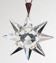 Swarovski, Swarovski Annual Ornaments - Page 1 Swarovski Crystal Figurines, Swarovski Crystals, Swarovski Snowflake, Snowflakes, Jewellery, Ceramics, Christmas Ornaments, Glass, Pattern
