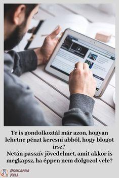 """""""Hogyan keress pénzt a blogoddal?"""" online képzés– Ezen az online tanfolyamon minden olyan tippet és trükköt elárulok, amivel te is képes leszel felépíteni egy blogot. Ráadásul egy olyat, ami idővel behozza az árát, sőt akárpasszív jövedelemhezis juttathat téged. Minden, Blog, Blogging"""