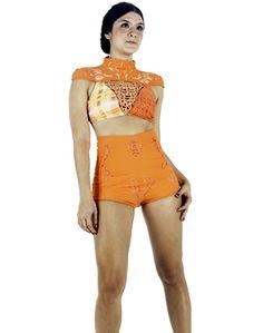 Arenga a los venezolanos · DANIELA MARTÍNEZ GÓMEZ · Taller de ropa interior y vestidos de baño 2011 · Semestre: 4 · Diseño de Modas · Colegiatura Colombiana · Medellín-Colombia