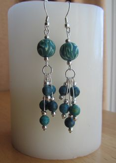 Hues of Blues Grape Clusters by HolderFineArtStudio on Etsy