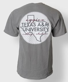Texas A&M Univerity Aggies shirt. #AggieStyle #AggieGifts