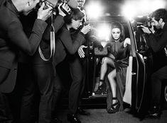 #houseofbeauty | Mila Kunis Is in the Spotlight for the Miss Dior Handbag Fall 2012 Campaign by Mario Sorrenti