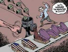 Iraq War Bush Carlos Latuff Political Cartoons