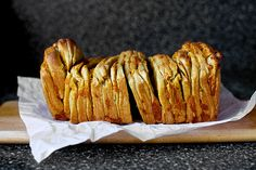 Guiness Pull-Apart Bread -- I am making this right now; I have extra Guiness from making my Corned Beef