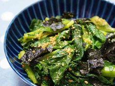 ほうれん草(小松菜)と海苔のごま和えの画像