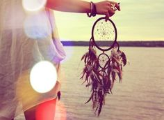 Had a dream catcher when I was growing up. <3