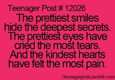 Teenager Post This couldn't be more true