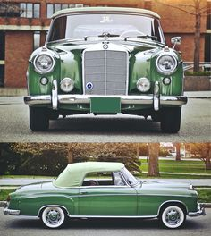 Mercedes-Benz 220 S Cabrio, Mercedes Benz 220, Mercedes Benz Maybach, Mercedes Models, Jaguar, Classic Mercedes, Old Classic Cars, Sports Sedan, Peugeot, Vintage Cars