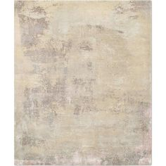 'Elements No. 01_Light Gold Blush' Hand-Knotted Tibetan Rug Made in Nepal | From a unique collection of antique and modern central asian rugs at https://www.1stdibs.com/furniture/rugs-carpets/central-asian-rugs/