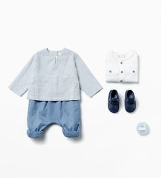 Image 1 of from Zara Fashion Kids, Zara Fashion, Baby Boy Fashion, Baby Outfits, Outfits Niños, Zara Kids, Moda Zara, Baby Shirts, Mode Style