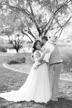 Black & White | Beautiful | Couple | Mr & Mrs | Newlyweds | Trilogy at Vistancia Weddings | Arizona Wedding Venue | www.weddingsatvistancia.com | Brealyn Nenes Photography