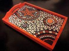 Image result for ver bandejas decoradas con venecitas y azulejos