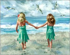 sisters :) by judith stein