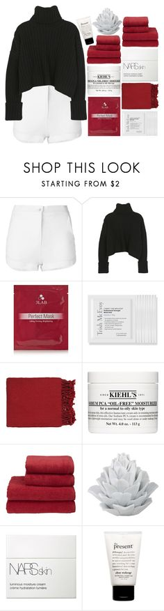 """I AIN'T THE CHICK TO WALK BEHIND YOU"" by expresng ❤ liked on Polyvore featuring Eleventy, 3LAB, Trish McEvoy, Surya, Kiehl's, Christy, NARS Cosmetics and philosophy"