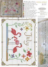 The Snowflower Diaries: Joyful World - JULY pattern
