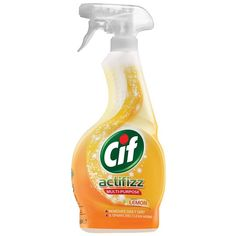 Cif Actifizz Lemon Multi Purpose Spray 450ml Odor Remover