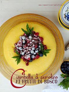 """La pasticceria di Chico: Dolce festa della mamma """"Ciambella di semolino ai frutti di bosco"""""""