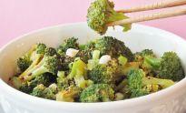 Broccoli Salad, a Korean Banchan | The Squishy Monster