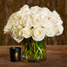 Simplicity: White Rose Bowl