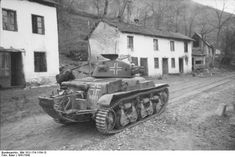 German Panzerkampfwagen 35R 731 (f) fighting in Yugoslavia, 1941-1942