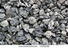 Big road gravel surface - stock photo