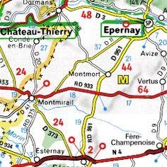 Sites touristiques Reims - Le Guide Vert Michelin Reims, Map, Exit Room, Location Map, Maps