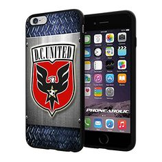 """Soccer MLS DC D.C. United LOGO SOCCER FOOTBALL, Cool iPhone 6 Plus (6+ , 5.5"""") Smartphone Case Cover Collector iphone TPU Rubber Case Black Phoneaholic http://www.amazon.com/dp/B00WP52HG8/ref=cm_sw_r_pi_dp_Q1Rpvb0GAA400"""
