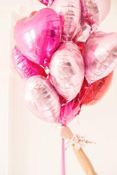 Valentine balloons / Ballons de St-Valentin