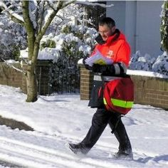 Thank A Mailman! They are underappreciated for fighting snow, dogs, rain and leg cramps just to bring us our mail. My daddy was a mailman, so...