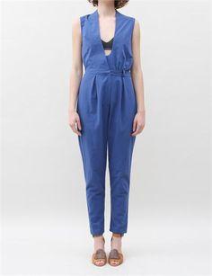 Rachel Comey Spruce Jumpsuit- Blue