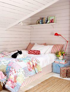 Dormitorios - Bedrooms - cottage bedroom