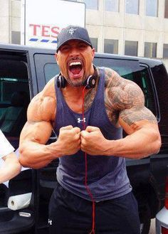 Dwayne Johnson  haaay