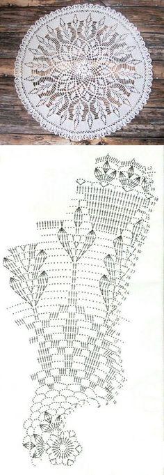 Салфеточку назвала 'Колосочки' Размером получилась 42см. Вязала из Снежинки, крючок № 1