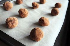 Шоколадные трюфели с ликером