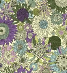 Purple susanna by Liberty of London.  Love their prints and colors!  Sometimes I wish I still sewed.