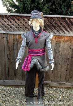 Frozen Kristoff Tunic Pants Hat Version A Adult Men by Bbeauty79, $750.00