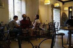 #Café in #Grosny, #Chechnya.