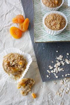 Havermout muffins met abrikozen