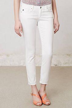 AG Stevie Ankle Sateen Jeans