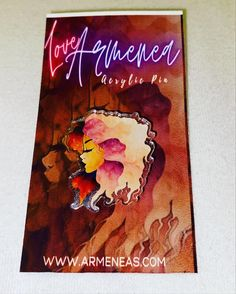 Love Armenea Acrylic Pins are official now!! I hope you all like them!!