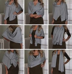 Just bought this Lululemon Vinyasa Scarf... Apparently theres 20 ways to convert it.. Sweet!
