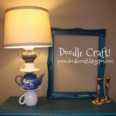 Mad-Hatter Lamp!