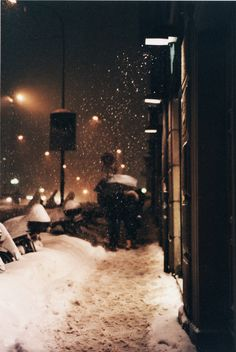 remembering that sometimes I love winter....