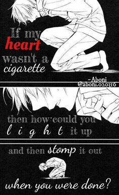 #heartbreak #broken #quotes #manga