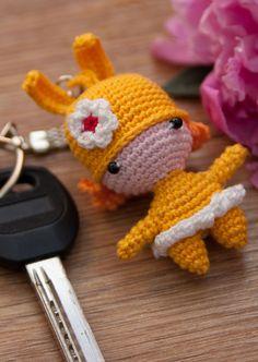 Crochet Bunny doll Keychain Amigurumi Bunny doll Keychain crochet doll Doll keychain Amigurumi Toy Keychain crochet toy keychain toy
