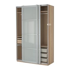 PAX Szafa - amortyzator drzwi, 150x66x236 cm - IKEA