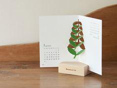 おしゃれで爽やかな植物の卓上カレンダー2016年版 - おしゃれ雑貨マガジン