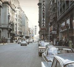Ahumada, Santiago en 1970. #chilehistorico 👈🏻 #santiago 📷 Sergio Marras