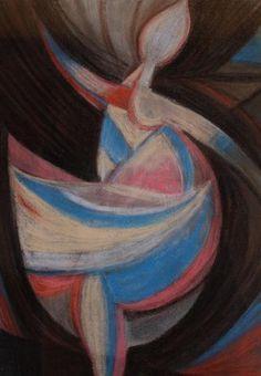 Tanečnice * (Čapek Josef) Dance Paintings, Georges Braque, Writers And Poets, Cubism, 1940s, Illustrators, Modern Art, Scene