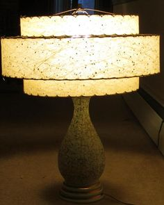 Vintage Table Lamp Mid Century Mod Retro | eBay